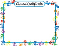 Helping Hands Certificate 25CT