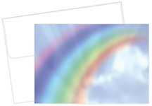 Rainbow Thank You Notecard 20CT