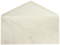 Marble Grey DL Envelope 25CT
