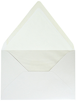 White EA5 Envelope 25CT
