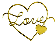 Delicate Touch Gold Love Seal 27CT