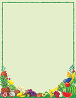 Healthy Eats Letterhead 80CT