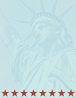 Lady Liberty Letterhead 80CT