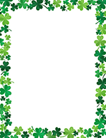 Jolly Shamrock Letterhead 80CT