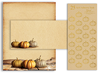 Fall Pumpkins Stat Kit 25CT
