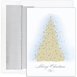 Frosted Tree Holiday Card 16CT