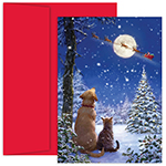 And To All A Goodnight Holiday Card 18CT