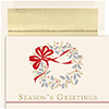 Classic Wreath Holiday Card 16Ct