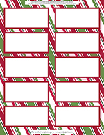 904930 - Holiday Stripes