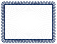 Blue Value Certificate 100CT