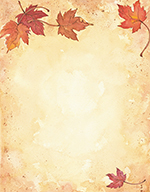 Fall Leaves Letterhead 25CT