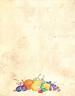 Crackled Fruit Letterhead