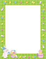 Easter Time Letterhead