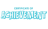 Clip Art - Certificate Of Achievement 1