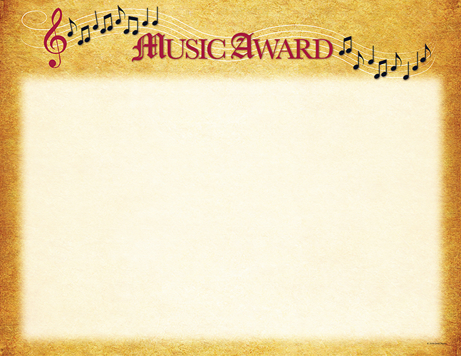 Music Certificate 25 CT
