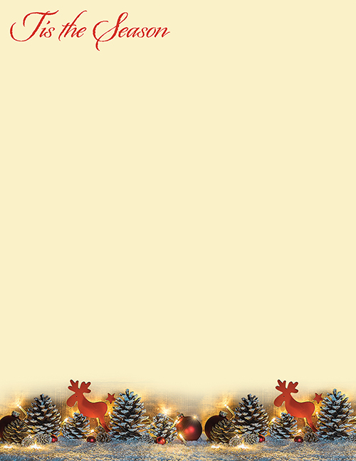 Tis The Season Letterhead 80CT