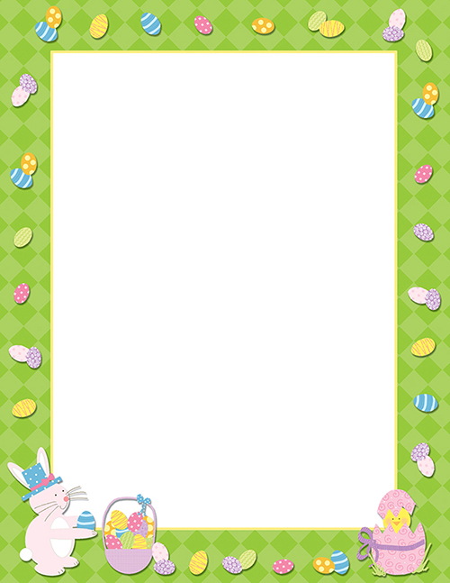Easter Time Letterhead 80CT