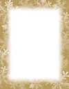 Frosted Holiday Wishes Snowflakes Letterhead 250CT