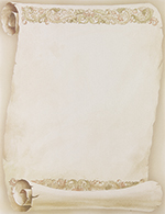 Florentine Scroll Letterhead 80CT