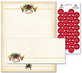 Antique Horns Stationery Kit 25CT