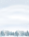 Winter Wonderland Letterhead 80CT
