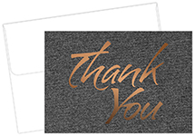 Suit Thank You Notecard 50CT