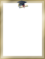 Accomplishment Foil Letterhead 40CT