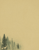 Winter Forest Kraft Letterhead 80CT