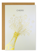 Cheers Congratulations Encouragement Card 3CT