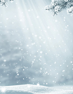 First Snowfall Holiday Letterhead